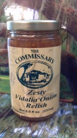 Zesty Vidalia Onion Relish