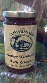 Orange Marmarlade with Ginger